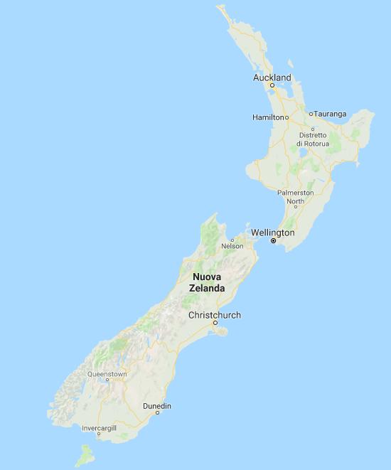 Cartina Nuova Zelanda.Nuova Zelanda 12 Cose Che Forse Non Sai Vansweetfun
